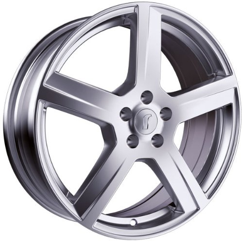 1 x Rondell Design 0223 in 6,0 x 14 ET 36 LZ/LK 4 x 100 Farbe Silber lackiert für Nissan Micra Typ K12