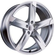 1 x Rondell Z Design 01RZ in 8,0 x 18 ET 45 LZ/LK 5 x 108 Farbe Silber matt, poliert für Renault VelSatis Typ J