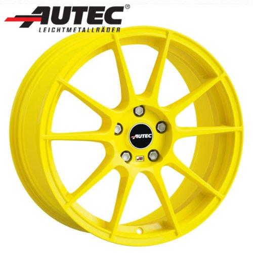 Alufelge Autec WIZARD Renault Megane BA nicht für Serie 185/60R15 6.5 x 15 Atomic yellow