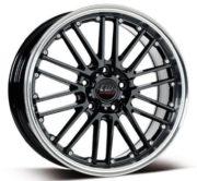 Borbet Alufelgen, Breite: 7, Durchmesser: 17, Lochkreis: 100, Farbe: black rim polished