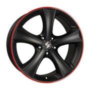 Felge etabeta TETTSUT 9,0x19 5x120 ET20 72.6 5H3 (BMW) Black Red