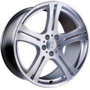 1 x Rondell Design 0048 in 8,5 x 18 ET 45 LZ/LK 5 x 112 Farbe Sterling Silber für Audi A4 Typ B8, B81