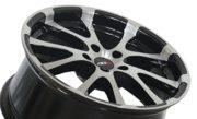 4 x ABU Wheels ABU1 8x18 ET35 LK 5 x 112 Schwarz 18 Zoll EM 2016 Alufelge Felge Audi Seat Skoda VW LM Rad Felgensatz mit Gutachten / Teilegutachten AUDI 100, 200, A6 (C4); AUDI 80, 90 Quattro (89Q); AUDI 80, Quattro, S2 (B4); AUDI A3, Sportback (8P); AUDI A4 (8E); AUDI A4 (B5); AUDI A4 (QB6); AUDI A4 Cabriolet (8H); AUDI A6 (4B); AUDI A6, Avant (4F); AUDI A8 (4E); AUDI A8, S8 (D2); SEAT Altea / Toledo (5P); SKODA Octavia (1Z); SKODA Superb (3U)