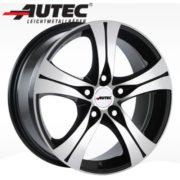Alufelge Autec ETHOS Opel Zafira-B A-H/Monocab /-V 7.0 x 16 Schwarz poliert