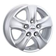 Alufelge Autec TALOS Mercedes-Benz Sprinter C, 902../903... 6.5 x 16 Brillantsilber