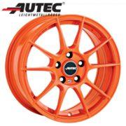 Alufelge Autec WIZARD Nissan Almera Tino V10 6.5 x 15 Racing orange