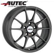 Alufelge Autec WIZARD Peugeot 206 2*...* 6.5 x 15 Gunmetal matt