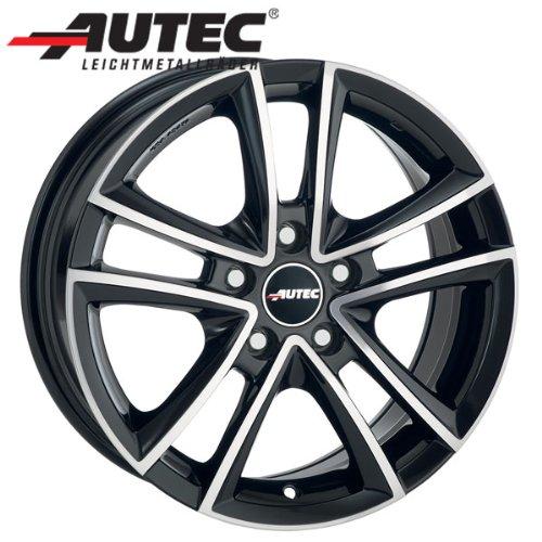 Alufelge Autec YUCON Opel Corsa-C Corsa-C 6.5 x 15 Schwarz poliert