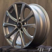 Audi 17 Zoll Alufelge A3 8P A4 8E A5 B8 A6 4F 4G A8 4E Q5 TT 8J Felge, Farbe:Grau ET35