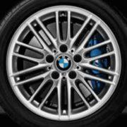 Original BMW Alufelge 1er F20 F21 M Doppelspeiche 460 in 17 Zoll für hinten