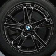 Original BMW Alufelge 2er Active Tourer F45 Doppelspeiche 473 schwarz in 16 Zoll