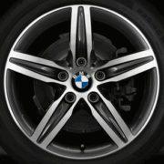 Original BMW Alufelge 2er Gran Tourer F46 Sternspeiche 379 in 17 Zoll