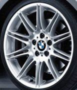 Original BMW Alufelge 3er E90 E91 E92 E93 M Doppelspeiche 225 in 19 Zoll für vorne