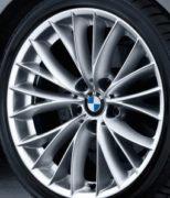 Original BMW Alufelge 3er E90 E91 E92 E93 V-Speiche 342 in 18 Zoll für vorne