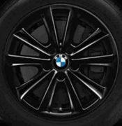 Original BMW Alufelge 5er F10-F11-LCI V-Speiche 236 schwarz in 17 Zoll