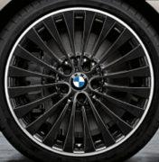 Original BMW Alufelge 5er F10-F11-LCI Vielspeiche 410 Schwarz glanzgedreht in 20 Zoll für hinten