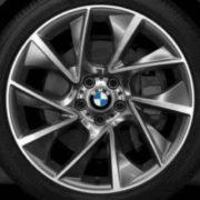 Original BMW Alufelge 5er GT F07-LCI Turbinenstyling 457 in 20 Zoll für vorne