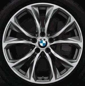 Original BMW Alufelge X6 F16 V-Speiche 597 in 20 Zoll für vorne