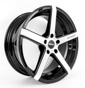 Seitronic® RP6 Alufelge | Concave Design | Machined Face Glossy Black 19 Zoll 8,5J 5x112-ET42-66,6