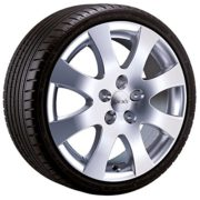 Alu-Winterkomplettrad Speeds 01SP in 15 Zoll mit 195/65 R 15 91 T Continental Conti Winter Contact TS850 für Ford Focus Typ DA3,DB3 Fahrtrichtung links