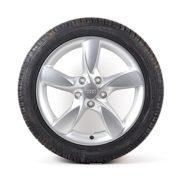 Audi Original Winterkomplettrad Satz 17 Zoll Audi A3 8V Aluminium Dunlop Reifen