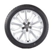 Audi Original Winterkomplettrad Satz 19 Zoll für Audi A6 Aluminium Dunlop Reifen