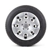 Audi Original Winterkomplettrad Satz 15 Zoll für Audi A1 Stahl Michelin Reifen