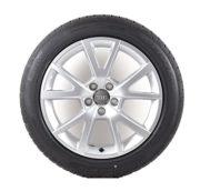 Audi Original Winterkomplettrad Satz 18 Zoll für Audi A6 Aluminium Dunlop Reifen