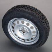 MINI Winterkompletträder Stahlrad (4er Set) R12 silber 16 Zoll MINI R60 R61