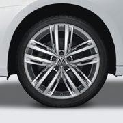 Original VW Volkswagen Tiguan / Allspace MQB Winterkomplettrad 'Auckland' mit Pirelli Sottozero Serie II 235l/50 R19 103H
